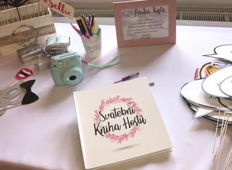Co obsahuje Svatební kniha hostů? Vše v jednom!