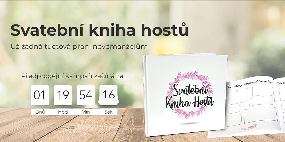Svatební kniha hostů - zahájení předprodejní kampaně hithit.com