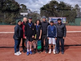 Junior Tennis Competition - Congratulations
