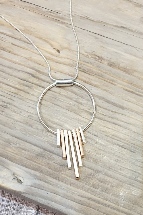 Necklace with Pendant Ring