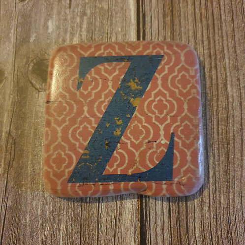 Alphabet Letter Coaster 'Z'