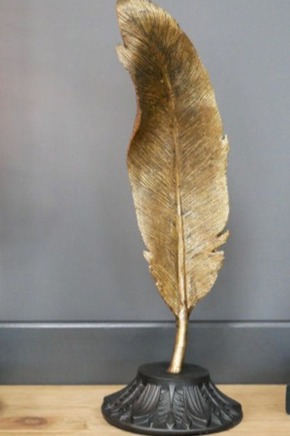 Decorative Golden Quill