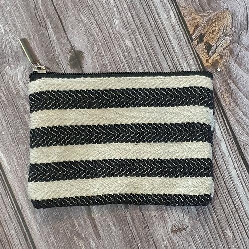 Thick Black Stripe Purse