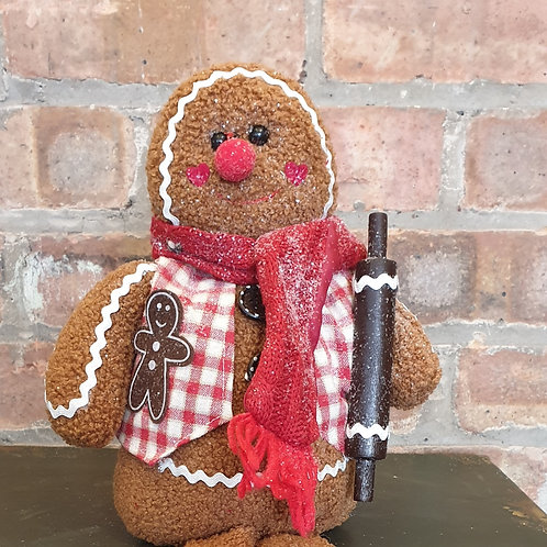 Shelf Sitting Gingerbread Man