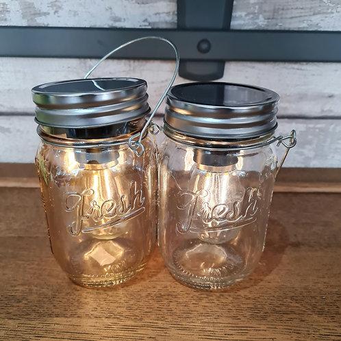 LED Edison Kilner Jars