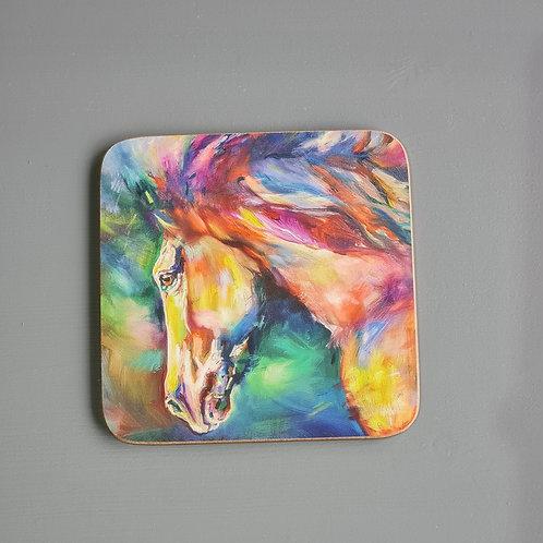 Chestnut Horse Coaster