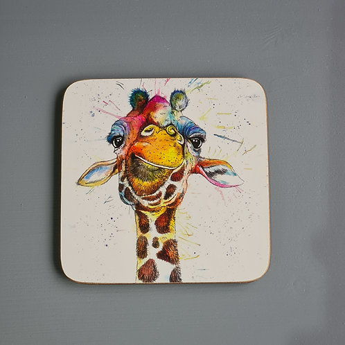 Rainbow Giraffe Coaster