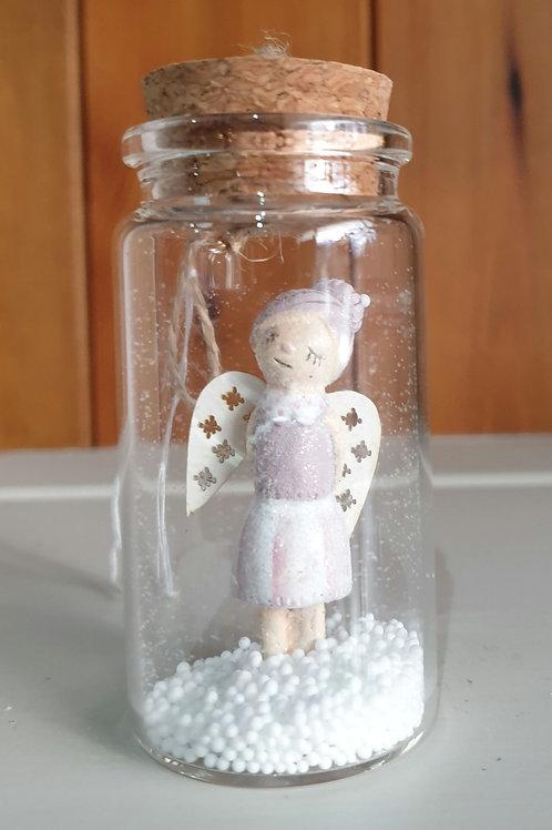Angel in Glass Jar