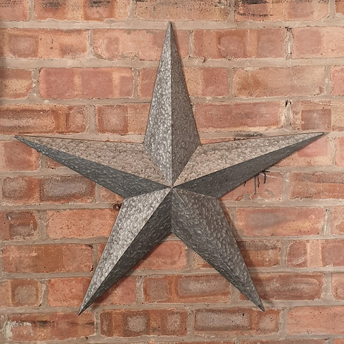Rustic Metal Barn Star