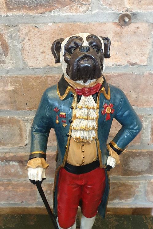 Gentleman Standing Pug