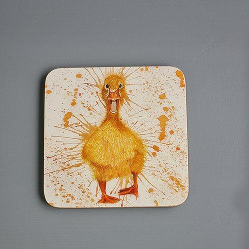 Splatter Duck Coaster
