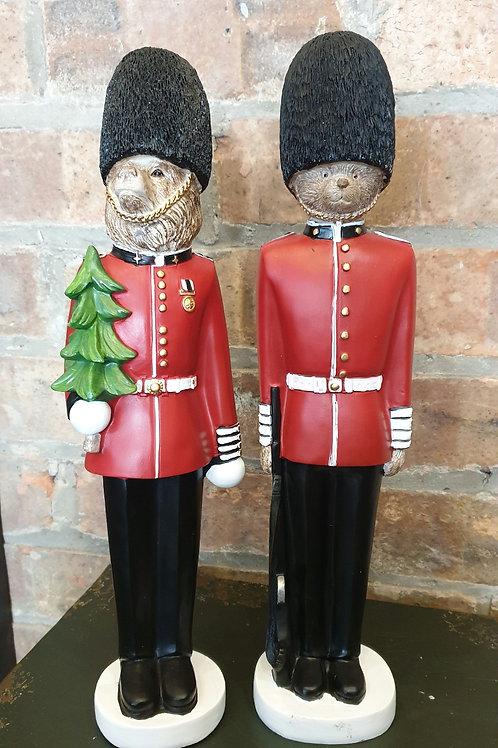 Set of 2 Royal Guard Bears