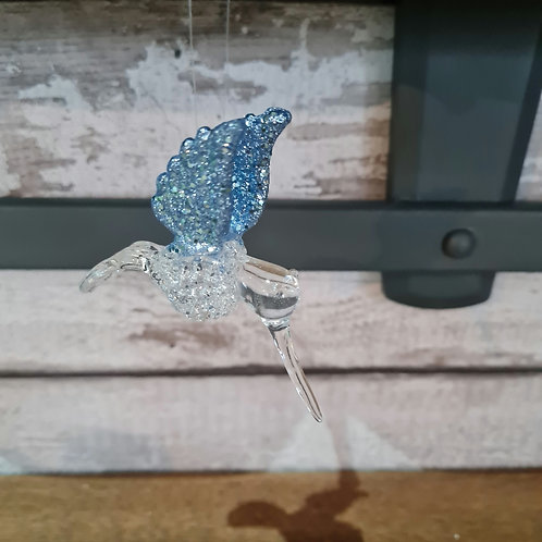 Blue Winged Glass Hummingbird
