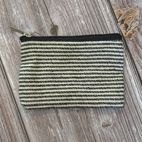 Thin Black Stripe Purse