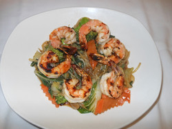 Grilled Shrimp with Garlic Oil