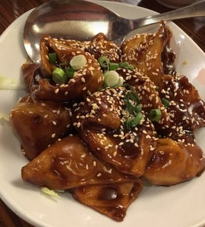 Lum Yen Pan Fried Wontons