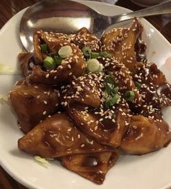 Lum Yen Pan Fried Wontons