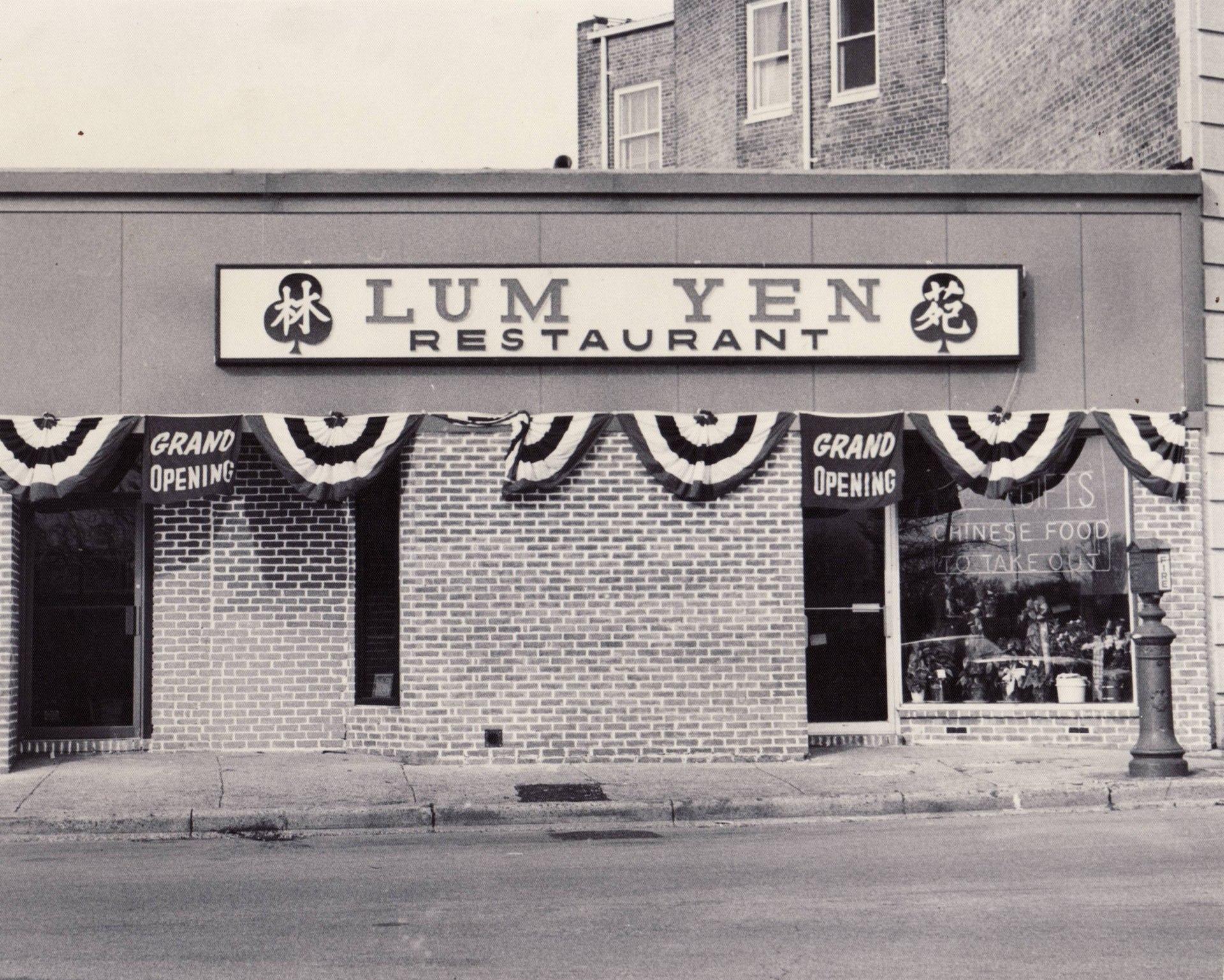 Lum Yen Grand Opening - 1972
