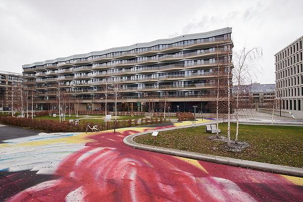 Vermietete Gewerbefläche am Wasser - attraktiver Standort Europa-City