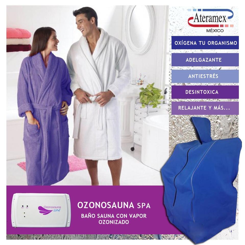 Ozonosauna Spa Baño Sauna con Vapor Ozonizado Ateramex
