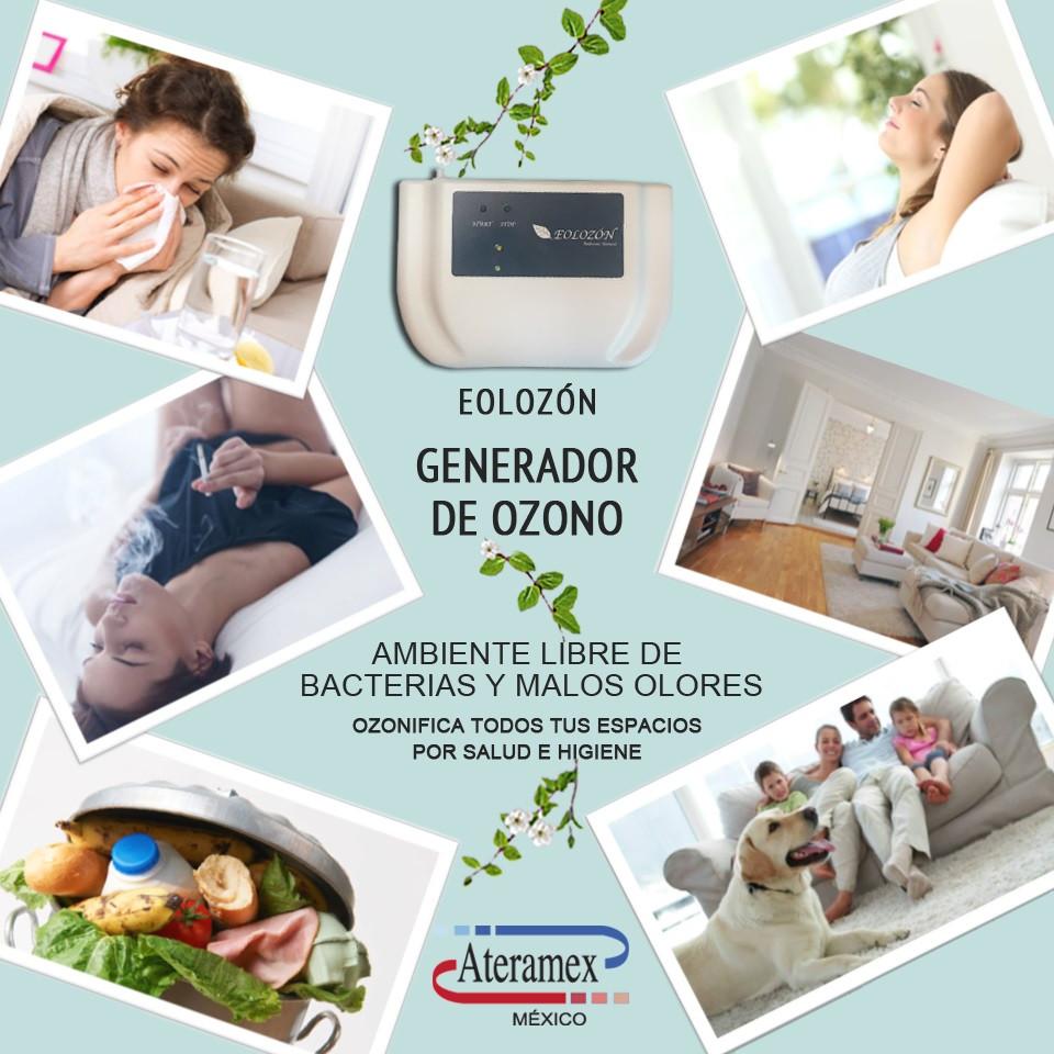 Eolozon ozonizador de ambiente para eliminar bacterias y malos olores