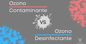 Ozono Contaminante VS Ozono Desinfectante