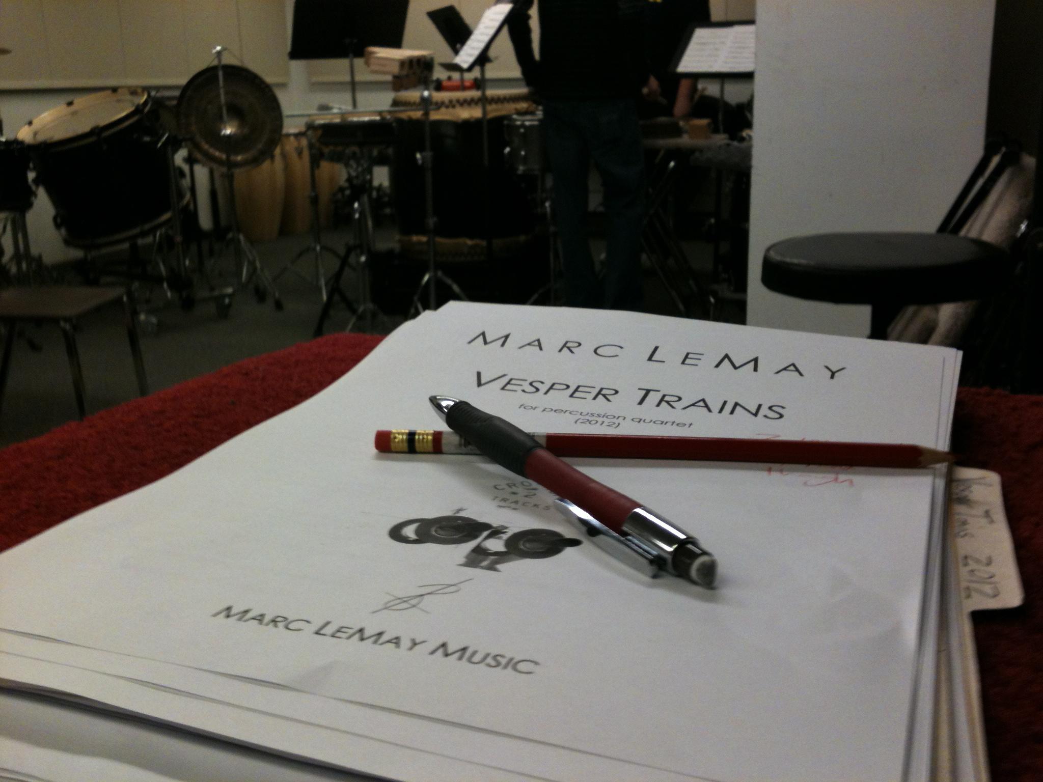 Vesper Trains rehearsal 4-14-12