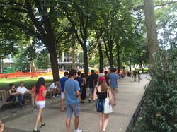 Mirroring Sky Sound Walk for Penn Orientation