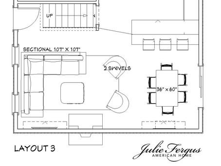 Furniture Layout Process