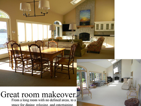 Great Room Makeover