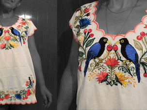 Blusas de bordado artesanal   Embroidery blouses