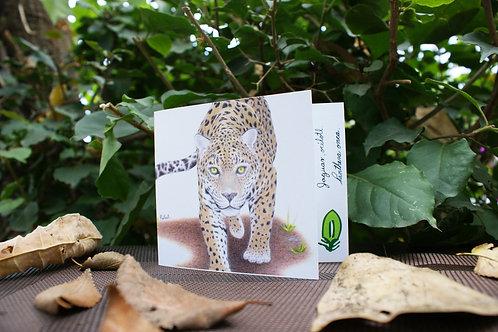 Tarjeta Plegable: Jaguar