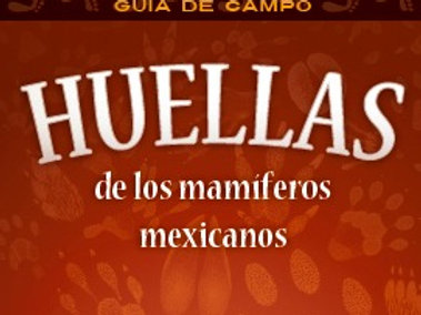 Guía de Campo: Huellas de los mamíferos mexicanos