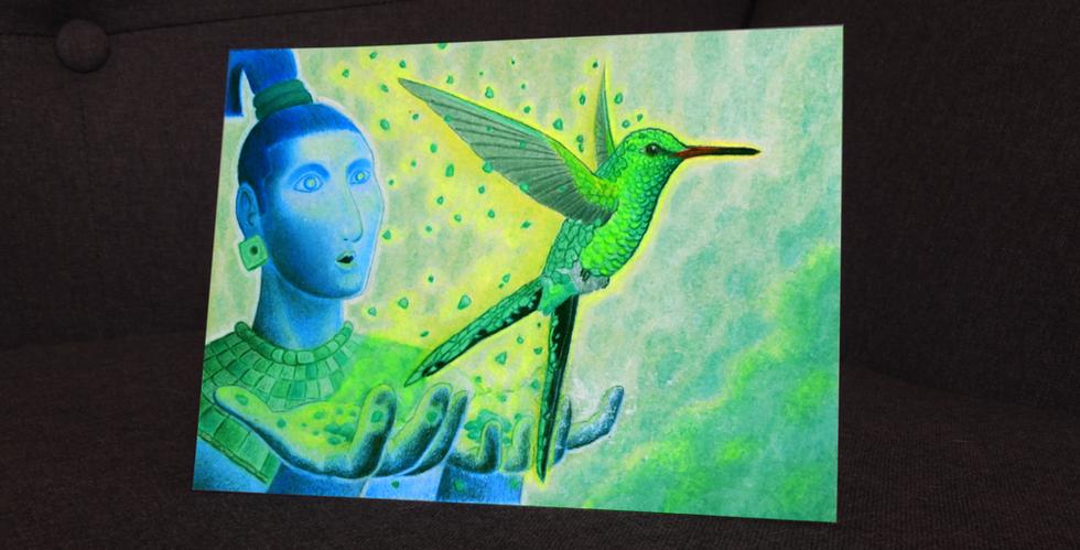 Leyenda Maya: la Creación del Colibrí