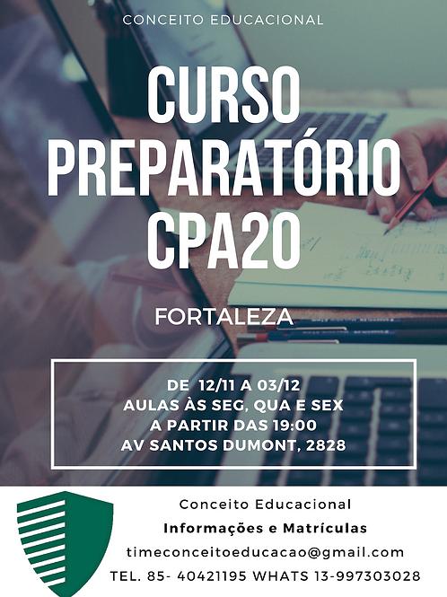 Curso CPA 20 Presencial Fortaleza