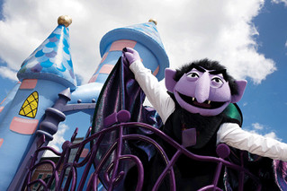 Our Favourite Accountants from TV and Movies – Count von Count from Sesame Street