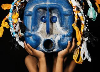 Greenpeace: African Trash Masks 'Blue Mask'