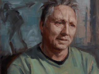 Archibald Prize 2016. Finalists. Study of Euan Macleod by Marie Mansfield