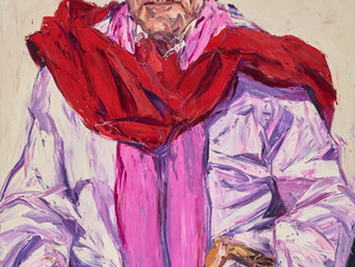 Archibald Prize 2016. Finalists. Peter Weiss AO by Nicholas Harding