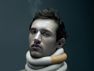 RSEQ / De Facto: Nicotine Addiction - Man
