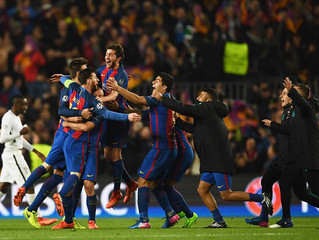Barcelona beats PSG 6-1 to stay in the Champions League