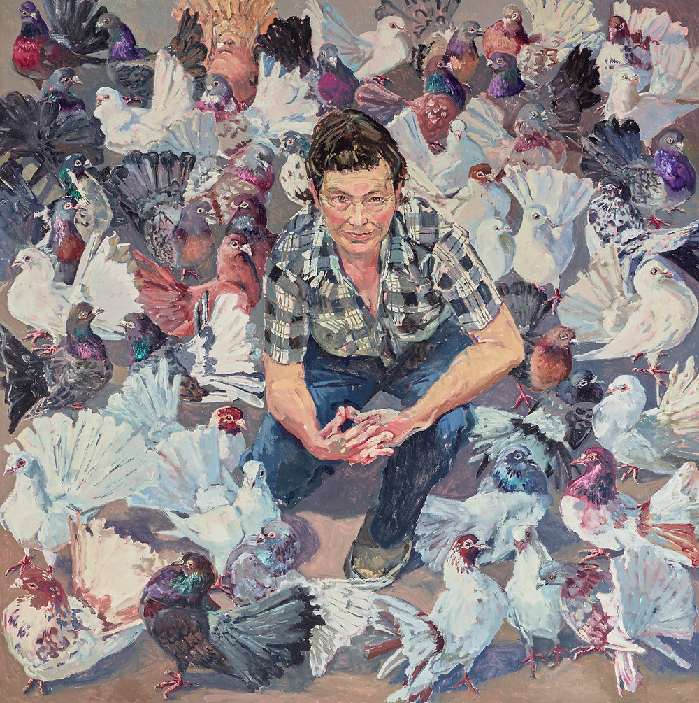 Lucy and fans by Lucy Culliton