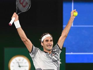 Roger Federer Wins his 18th Major