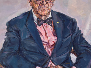 Archibald Prize 2016. Finalists. Portrait of Bernie Teague by Lewis Miller