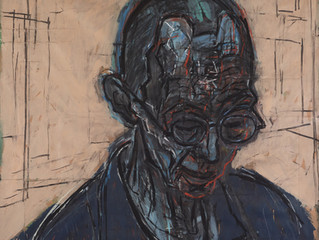 Archibald Prize 2016. Finalists. Large head JL no 3 by David Fairbairn