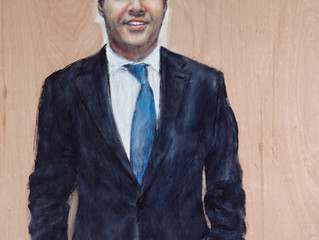 Archibald Prize 2016. Finalists. Polymath by Camillo De Luca