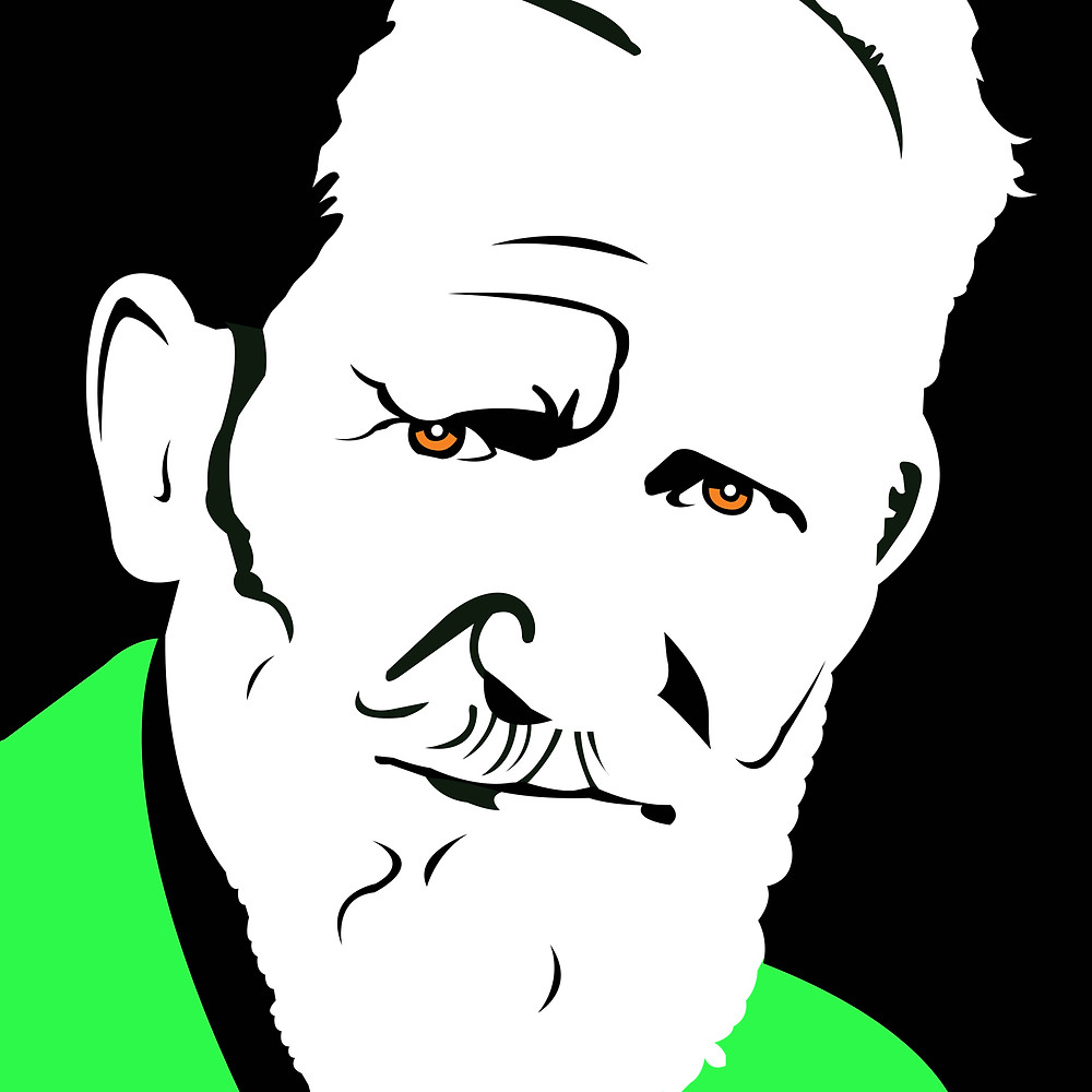 George Bernard Shaw by Steve Whitfield