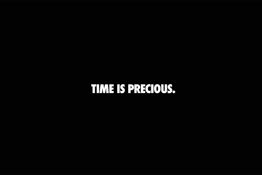 Nike: Time is Precious