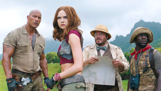 JUMANJI: WELCOME TO THE JUNGLE – Official Trailer