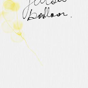 yellow balloon | poetry